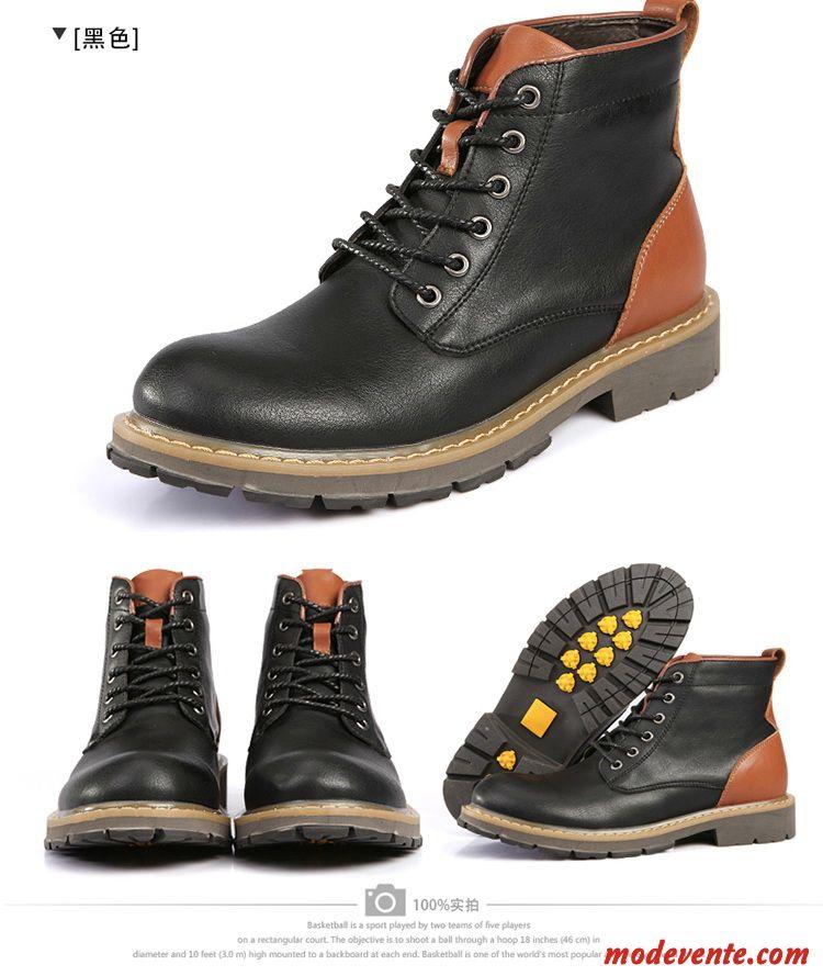 c25d46c9a205 Un rétro pour le chaussure montant homme cuir Rose - annie-moret.fr