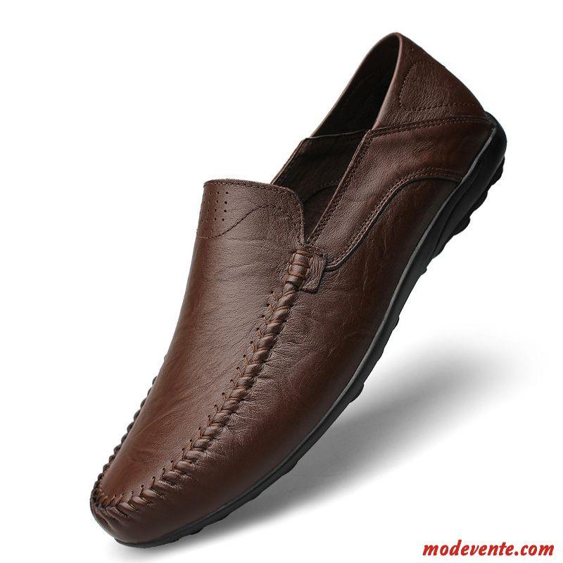 Chaussure De Ville Homme Pas Cher Rose Marine Mc23911