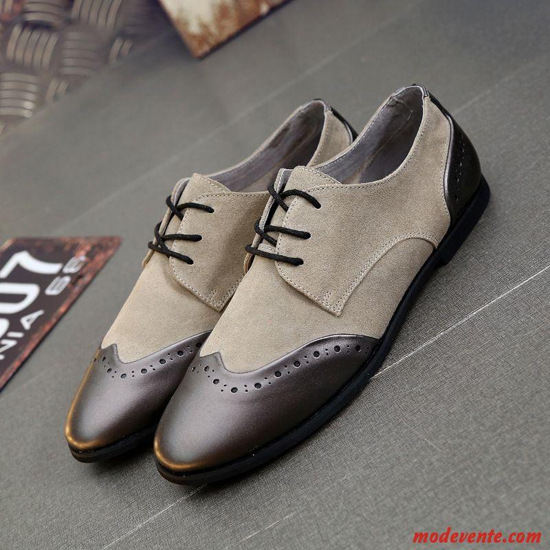 chaussure de ville homme pas cher saumon blanc mc24544. Black Bedroom Furniture Sets. Home Design Ideas
