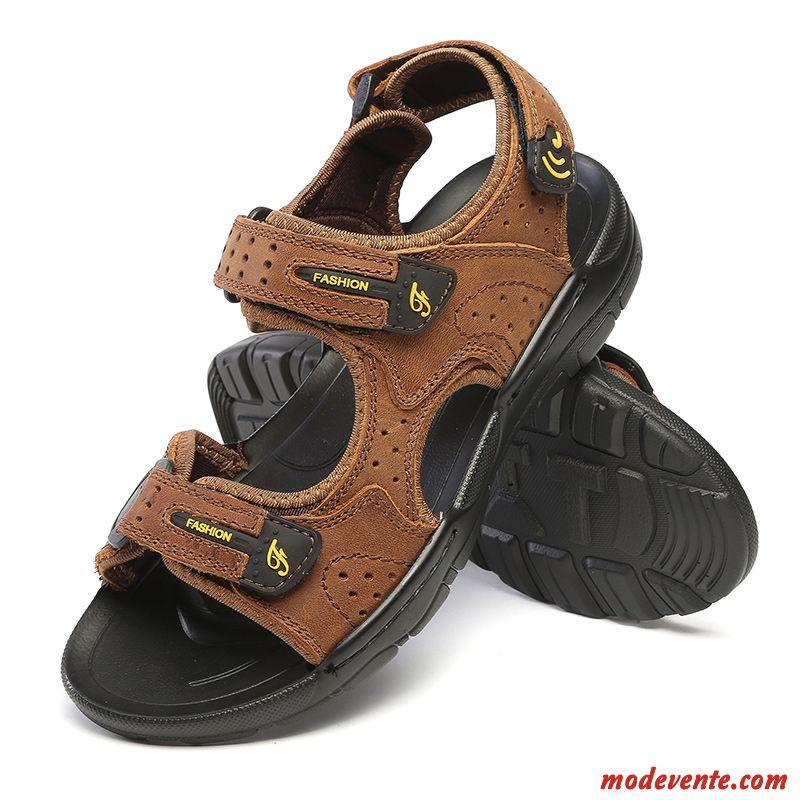 chaussure de ville marron homme marron blanc d 39 hu tre mc24029. Black Bedroom Furniture Sets. Home Design Ideas