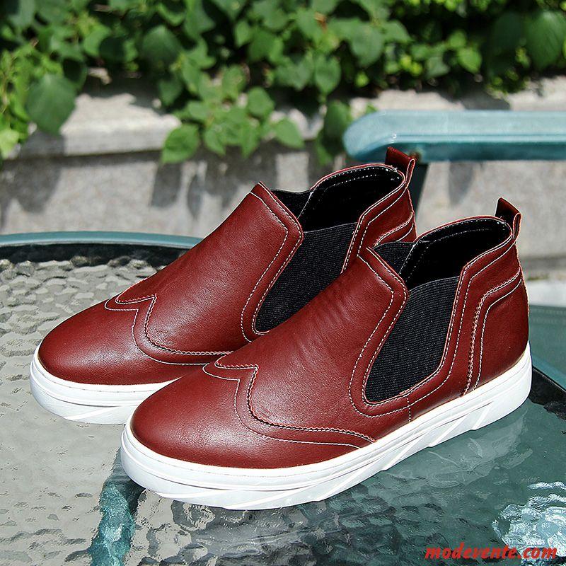 chaussure montant homme pas cher saumon rubine mc20395. Black Bedroom Furniture Sets. Home Design Ideas