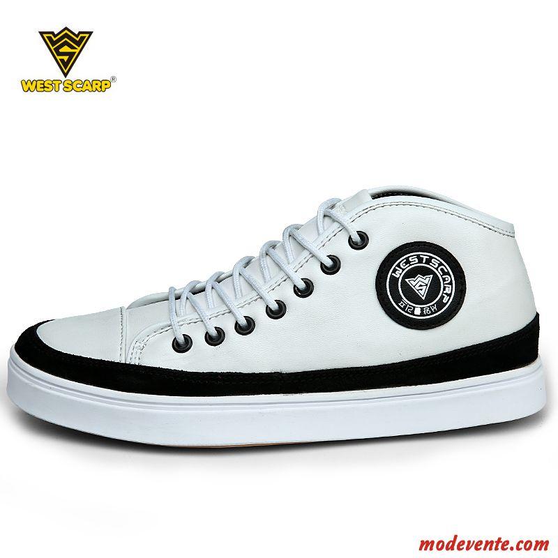 chaussure montante homme pas cher gris charbon blanc mc20286. Black Bedroom Furniture Sets. Home Design Ideas