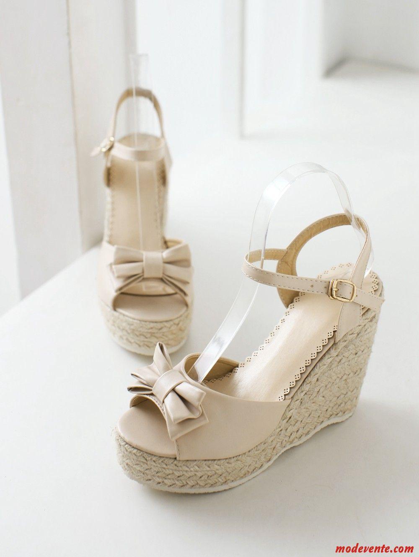 Sandales blanc femme soldes vert blanc neigeux mc27446 - Blanc d ivoire soldes ...