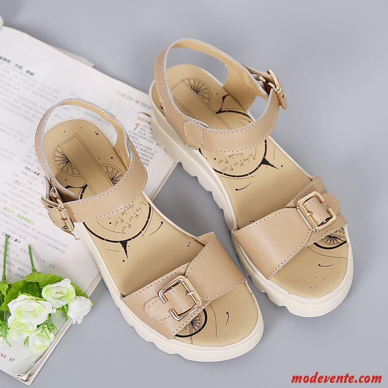 sandales pour femme pas cher rose saumon tout noir mc27306. Black Bedroom Furniture Sets. Home Design Ideas